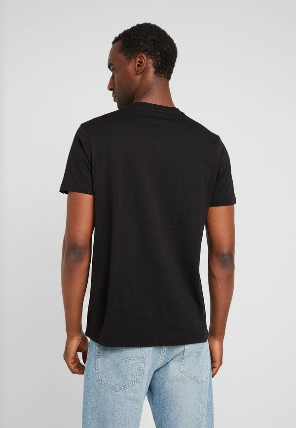 Alpha Industries RAINBOW - T-shirt z nadrukiem - black/czarny Odzież Męska YBHU