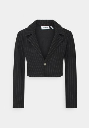 VERDIN JACKET - Veste en jean - black