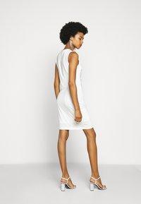 Just Cavalli - Pouzdrové šaty - white - 2