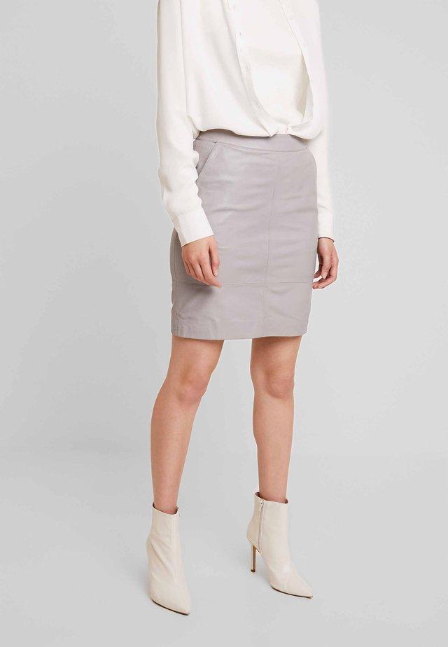 CHARGZ SKIRT - Pencil skirt - alloy