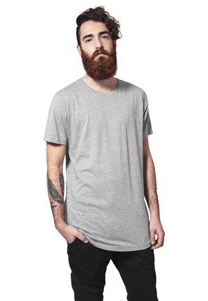 SHAPED LONG TEE DO NOT USE - T-shirt - bas - grey