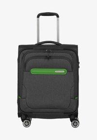 Travelite - MADEIRA - Wheeled suitcase - anthracite/green - 0