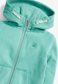 Next - FLURO - Zip-up hoodie - teal - 2