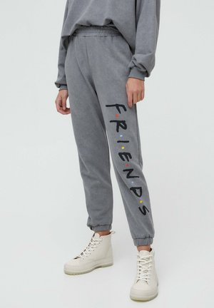 FRIENDS - Tracksuit bottoms - grey