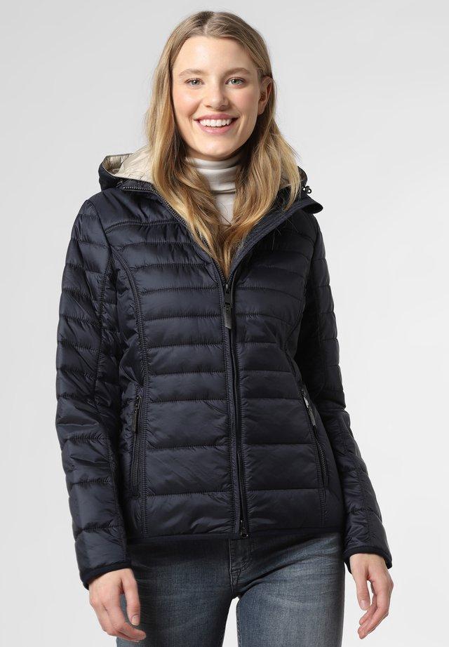 Winter jacket - marine beige