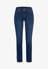 zero - SEATTLE - Slim fit jeans - mid blue used wash - 4