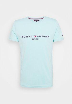 LOGO TEE - T-shirt con stampa - miami aqua
