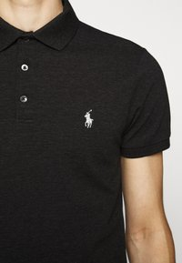Polo Ralph Lauren - SLIM FIT MODEL - Polo shirt - black marl heather - 6