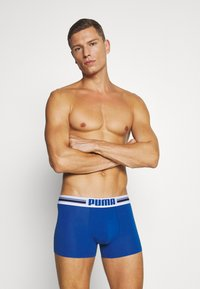 Puma - PLACED LOGO BOXER 6 PACK - Culotte - blue/black/red - 6