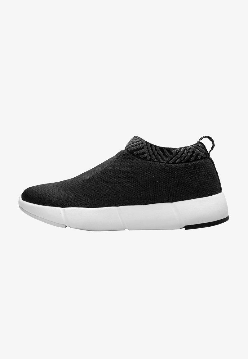 Rens Original - WATERPROOF COFFEE SNEAKERS - Sneakers laag - arctic black