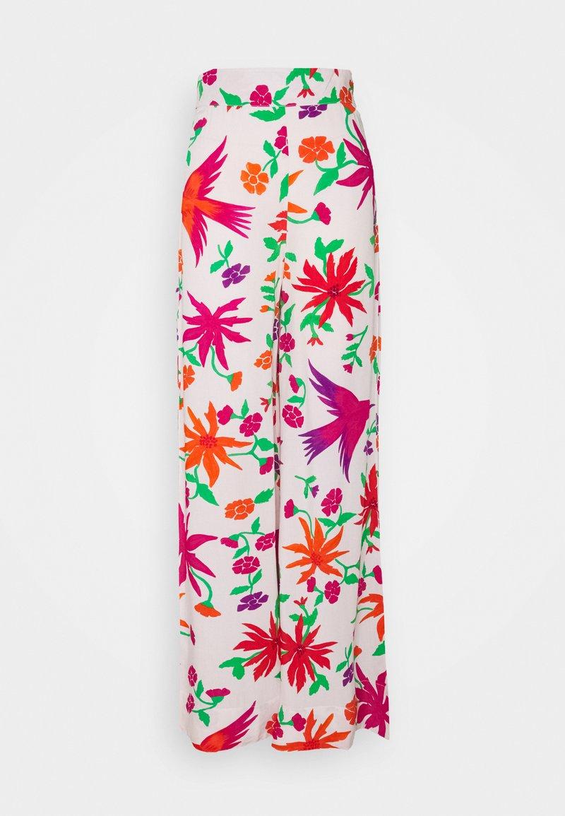 Stieglitz - ADRIANA PALAZZO - Trousers - pink