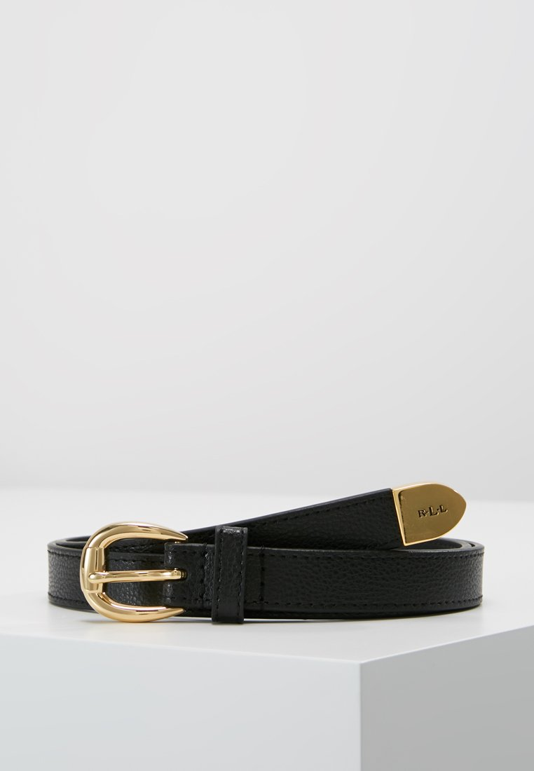 Lauren Ralph Lauren - SOFT GRAIN BENNINGTON - Belt - black