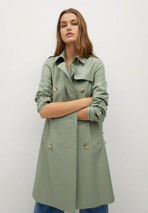 POLANA - Trenchcoat - pastellgrün