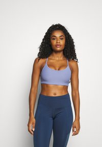 Cotton On Body - WORKOUT YOGA CROP - Light support sports bra - periwinkle - 0