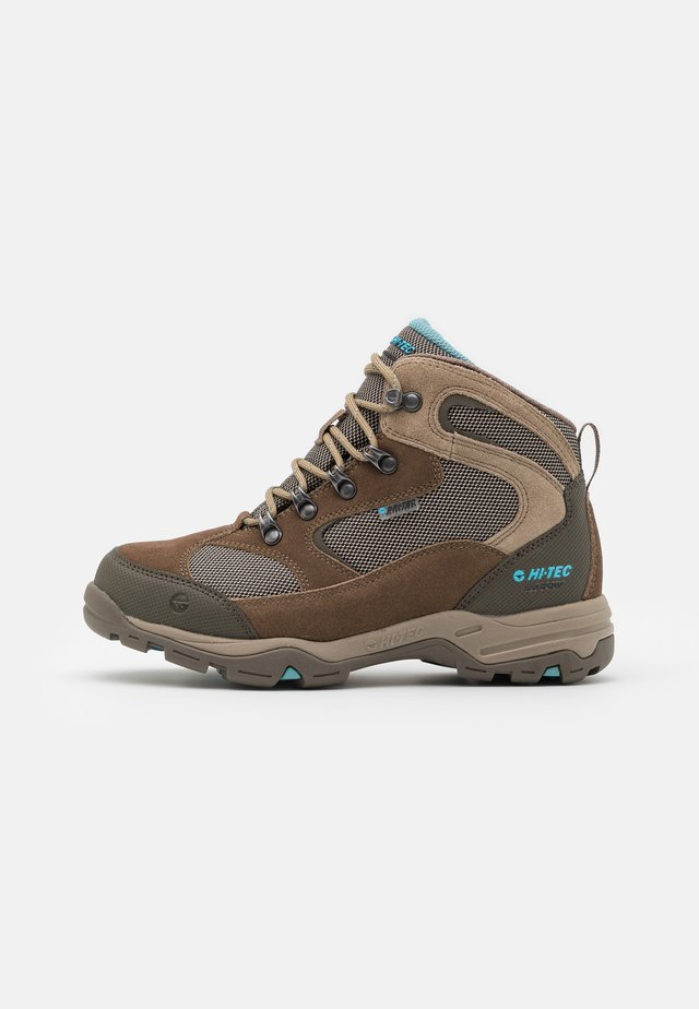 STORM WP WOMENS - Hikingskor - light taupe/mint