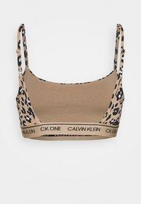 Calvin Klein Underwear - ONE PRIDE CAPSULE UNLINED BRALETTE - Topp - light brown - 1