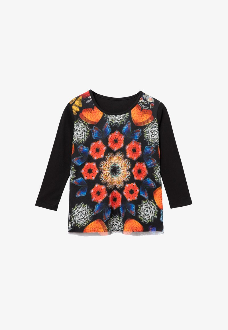 Desigual - KELLY - Long sleeved top - black