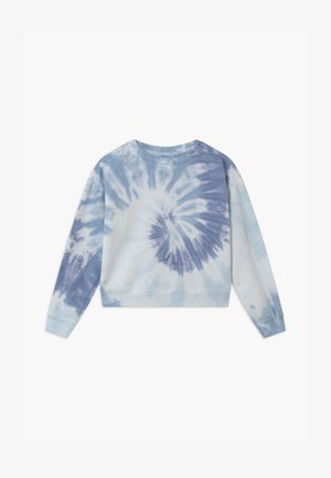 GIRLS TIE DYE - Sudadera - blue