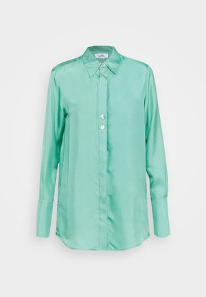 BUTTON DETAIL - Blouse - spearmint green