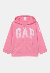 GAP - ARCH HOODIE - Zip-up hoodie - neon impulsive pink - 0
