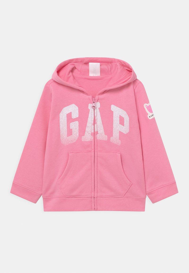 GAP - ARCH HOODIE - Zip-up hoodie - neon impulsive pink