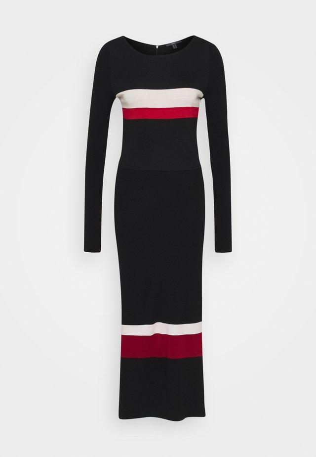 DRESS - Maxi dress - black