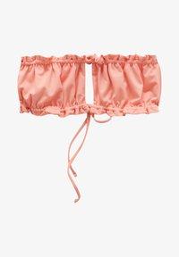 PULL&BEAR - Bikini top - coral - 5