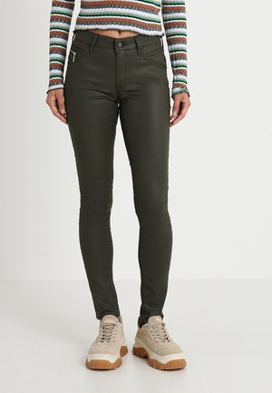 ADRIANA - Jeans Skinny Fit - khaki party