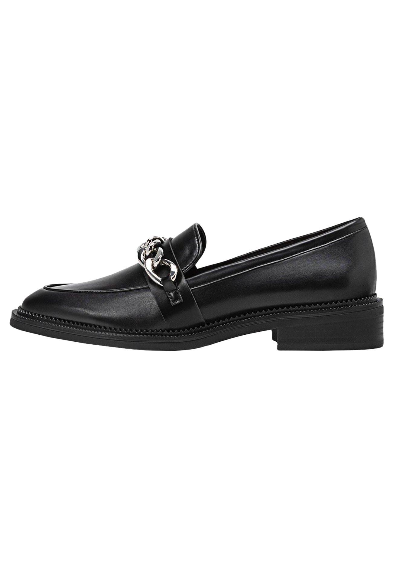 MIT KETTENELEMENT - Scarpe senza lacci - black