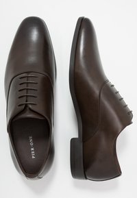Pier One - Business sko - dark brown - 1
