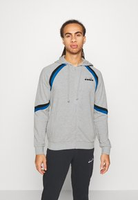 Diadora - CUFF SUIT CORE SET - Trainingsanzug - light middle grey melange - 0