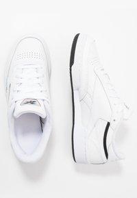 Reebok Classic - CLUB C REVENGE - Trainers - white/black/silver metallic - 1