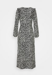 Dorothy Perkins Petite - SPOT MIDI - Jersey dress - black - 1