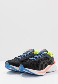 ASICS - NOVABLAST - Neutral running shoes - black - 2