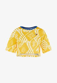 Tommy Sport - GRAPHIC TEE - Print T-shirt - yellow - 4
