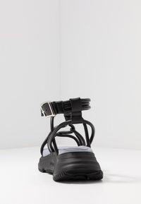 Sportmax - DIRETTA - Sandalias con plataforma - nero - 3