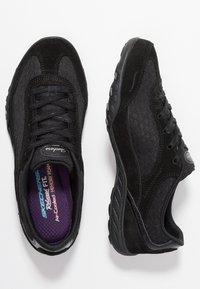 Skechers - BREATHE EASY - Trainers - black - 3