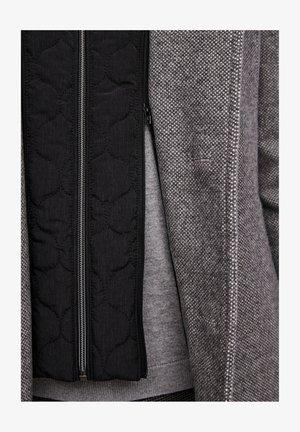 STEHKRAGEN - Short coat - grey melange