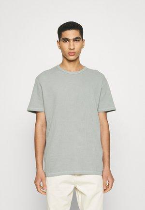 WAFFLE TEE - T-shirt basic - grey