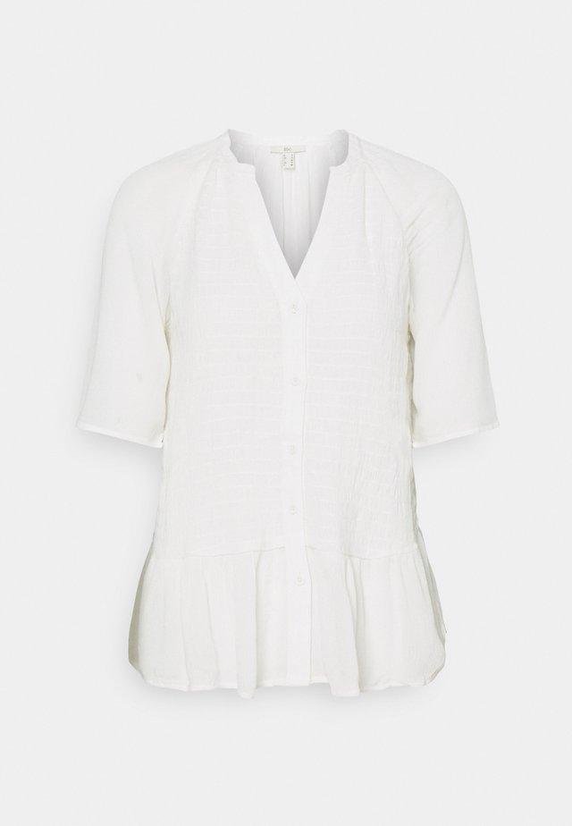 BLOUSE - Skjorta - off-white