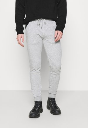 MARTELL - Tracksuit bottoms - light grey marl