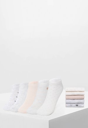 5 PACK - Trainer socks - white