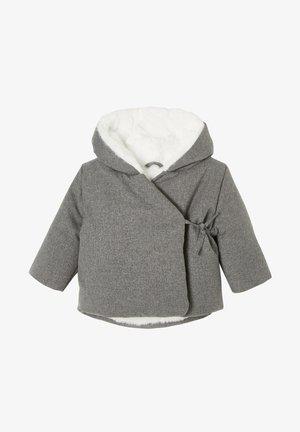 ASYMMETRISCHE MIT - Winter jacket - dunkelgrau meliert