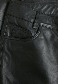 Denim Hunter - Leather trousers - black - 3
