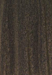 Monki - RITVA DRESS - Cocktail dress / Party dress - gold/black - 2