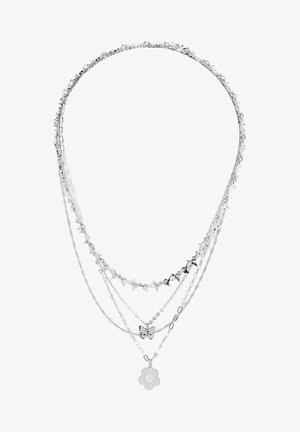 4 PACK - Ketting - silvercoloured