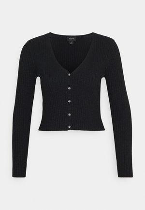 SILJA CARDIGAN - Vest - black