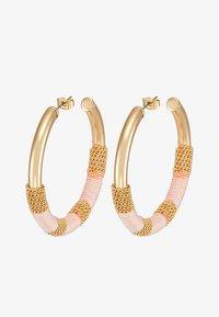 Pieces - Boucles d'oreilles - lotus - 3