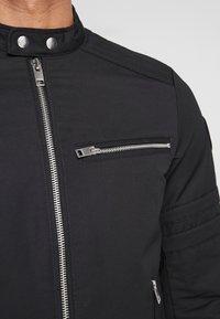Diesel - J-GLORY JACKET - Summer jacket - black - 5