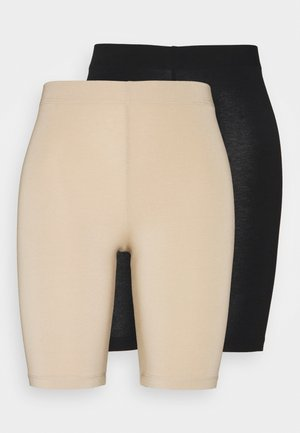 KASELMA 2 PACK - Shorts - black/nude